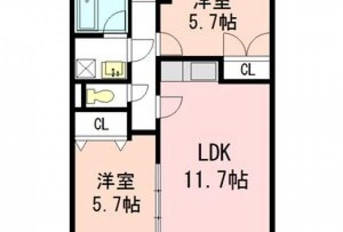 瑞光ハイツ 304号室 (名古屋市昭和区 / 賃貸マンション)
