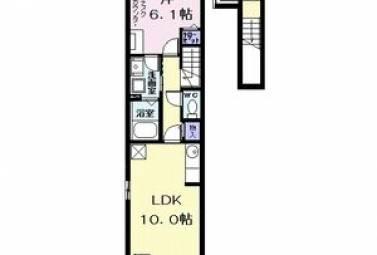 ヴィレドソレイユコガネI 202号室 (名古屋市中村区 / 賃貸アパート)