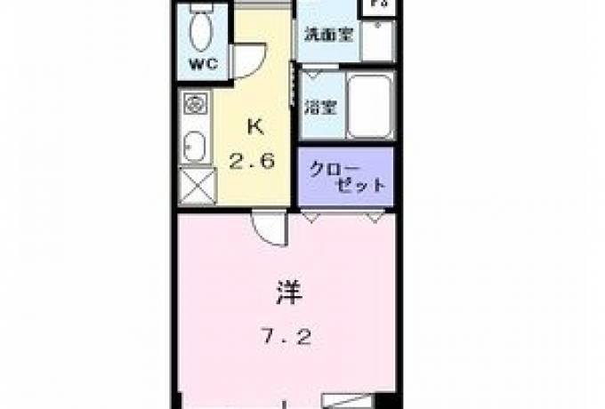 ウィステリアII 101号室 (名古屋市中川区 / 賃貸アパート)