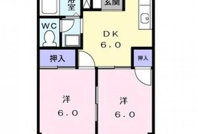 コーポ英伸 201号室 (名古屋市中川区 / 賃貸アパート)