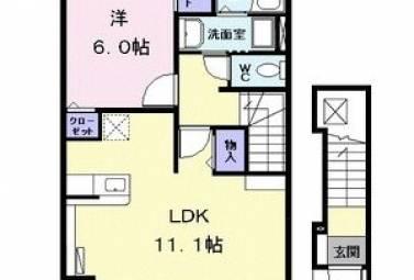 プランドール T 202号室 (名古屋市中川区 / 賃貸アパート)