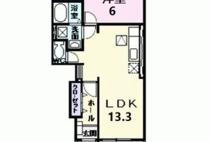 プラシード 103号室 (尾張旭市 / 賃貸アパート)