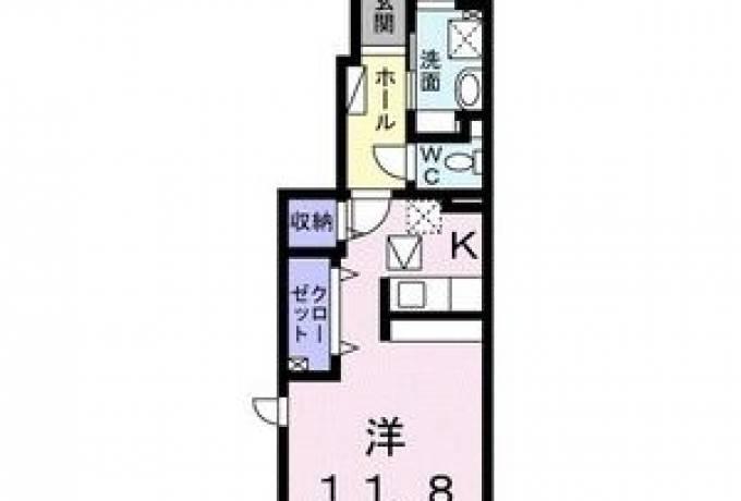 ボヌールF 105号室 (大府市 / 賃貸アパート)