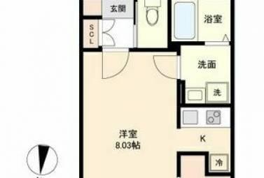 Branche桜山Chambre 0306号室 (名古屋市瑞穂区 / 賃貸マンション)