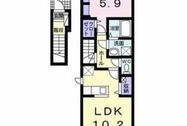 コンウィステリア 203号室 (大府市 / 賃貸アパート)