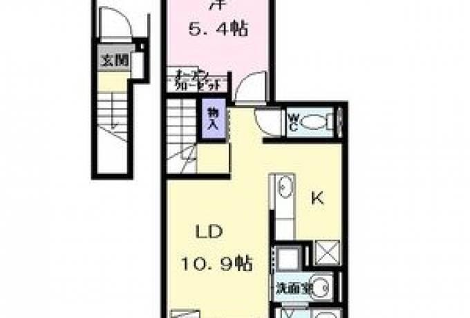 Franc O(フラン オー) 203号室 (名古屋市中川区 / 賃貸アパート)