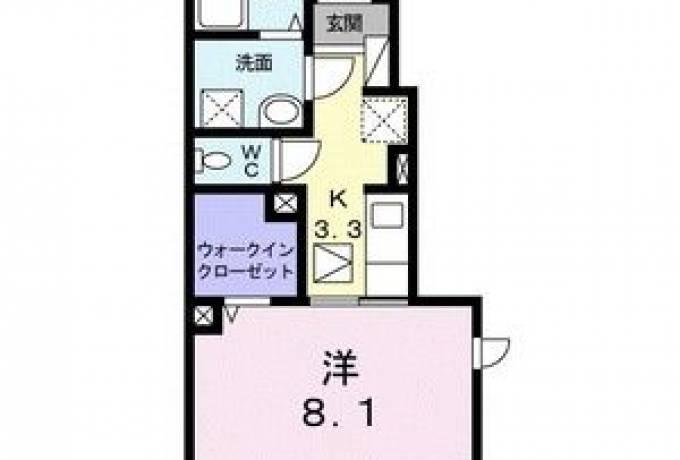 ハモニクオーレ 101号室 (尾張旭市 / 賃貸アパート)
