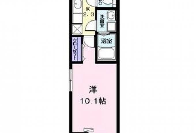 サージュ F 202号室 (名古屋市中川区 / 賃貸アパート)