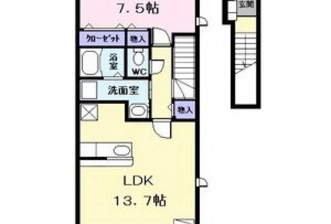 アぺックス 荒子 201号室 (名古屋市中川区 / 賃貸アパート)