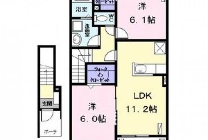 カサ カンパーナI 203号室 (名古屋市港区 / 賃貸アパート)