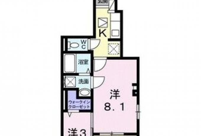 ブラン 101号室 (豊明市 / 賃貸アパート)