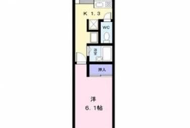 メゾン花池 203号室 (名古屋市中川区 / 賃貸アパート)