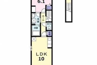 サン・シンシア 203号室 (名古屋市北区 / 賃貸アパート)
