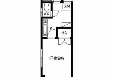 七福堂マンション 4D号室 (名古屋市中区 / 賃貸マンション)
