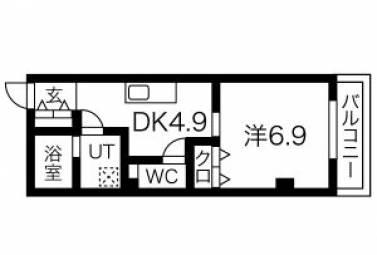 La Veriteノムラ大喜新町(ラヴェリテノムラ) 401号室 (名古屋市瑞穂区 / 賃貸マンション)