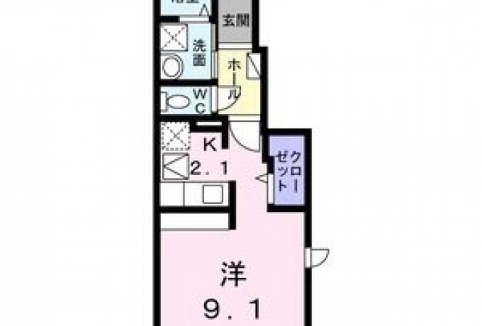 シャイン コート ナルコ 101号室 (名古屋市緑区 / 賃貸アパート)