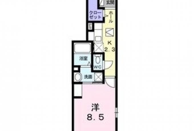 エスポアール ニシダ 101号室 (名古屋市南区 / 賃貸アパート)
