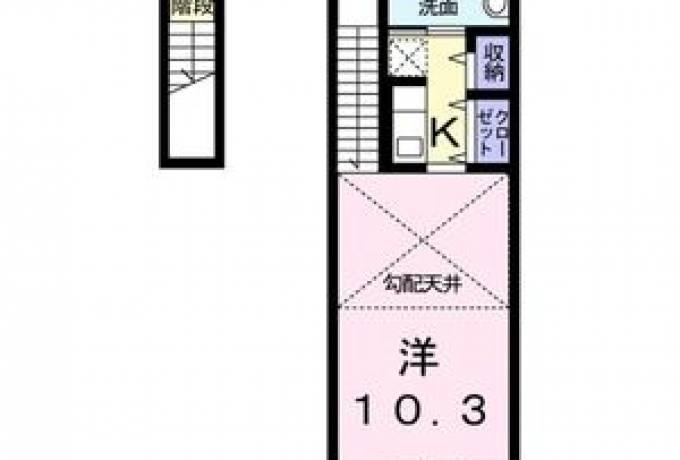 ガーデンヒルズ徳重 202号室 (名古屋市緑区 / 賃貸アパート)