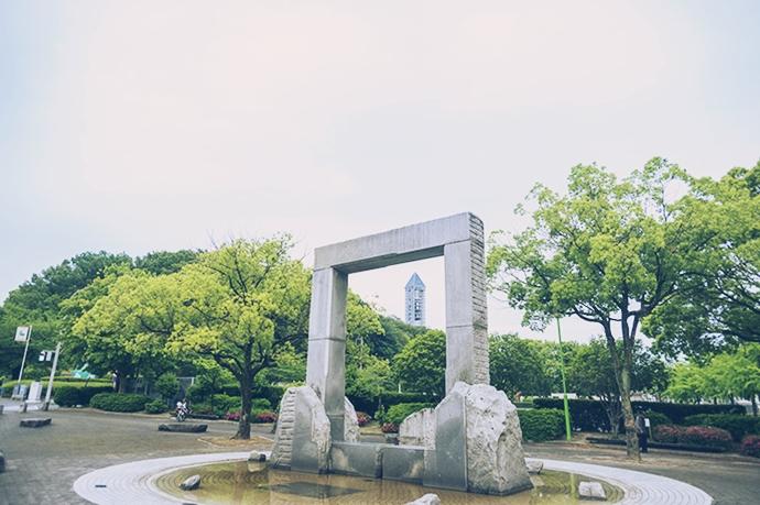緑の豊かな癒やしの街、東山公園